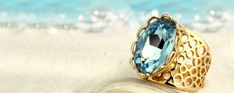 Den Sommer feiern - Edelsteine in Blau und mehr