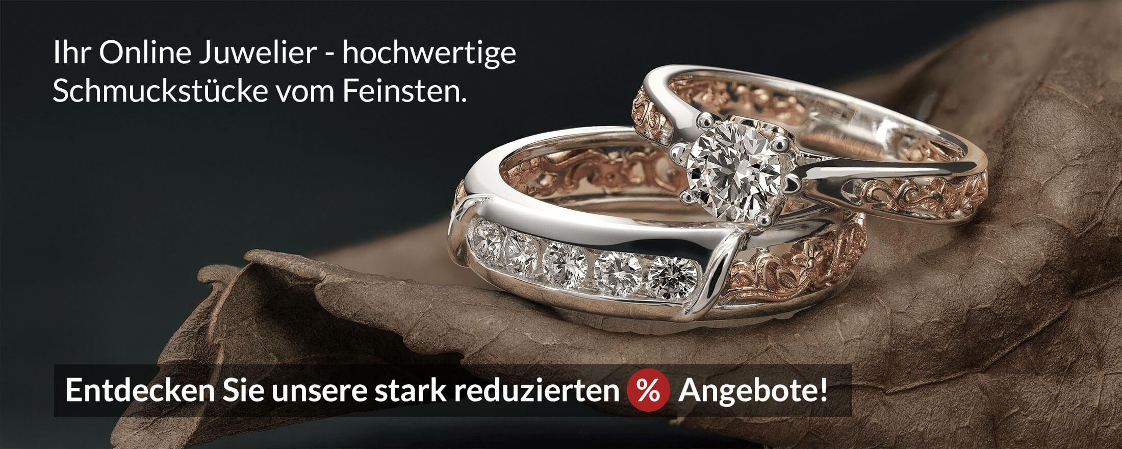 Brillant Ringe - exklusiv und preiswert