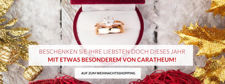 Beschenken Sie ihre Liebsten doch dieses Jahr mit etwas Besonderem von Caratheum!